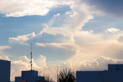 dangus,debesis,šviesti