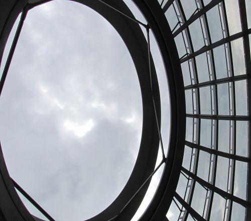 Dangus, Kupolas, Berlynas, Stiklo Kupolas, Reichstagas, Perspektyva, Perspektyva
