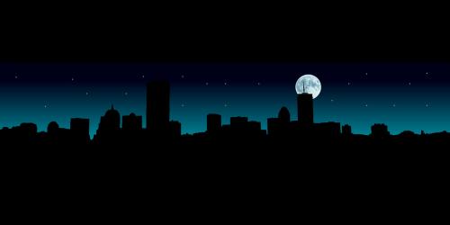 panorama,Bostonas,naktis,miesto panorama,bostono panorama,dangoraižis,panorama,miestas,miesto,aklavietė,nemokama vektorinė grafika