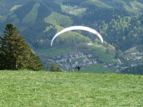 paragliding,nuolydis,sklandytuvas,vasara,skristi laisvas,Sportas,labai