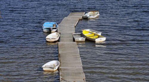 valtys, valtis, ežeras, vanduo, prijungtas, Sportas, plaukiojimas, mažos & nbsp, valtys, mažos valtys prijungtos