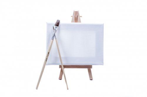paveikslai, stovėti, menininkas, izoliuotas, skelbimų lenta, balta, eskizas, įrankis, tuščias, naujas, molbertas, studija, drobė, žanras, piešimas, dažyti, figūra, įranga, parama, kūrybiškumas, paroda, mediena, rėmas, spalva, apibūdinantis, trikojis, teptukas, tuščia, nuotrauka, mažas drobė ant balto