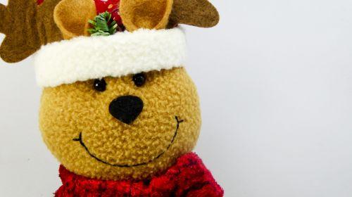 Kalėdos, xmas, šiaurės elniai, žaislas, šypsena, mielas, ornamentas, ruda, šventė, apdaila, šypsosi šiaurės elnių apdaila