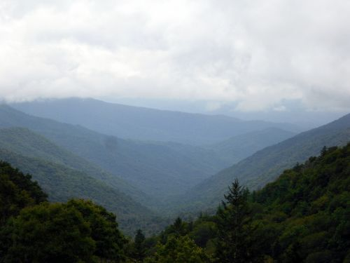 dūminiai & nbsp, kalnai, kalnas, kalnai, gamta, vaizdas, šiaurė & nbsp, carolina, mėlynas & nbsp, keteras, vaizdingas, medžiai, debesys, debesis, dūminiai kalnai
