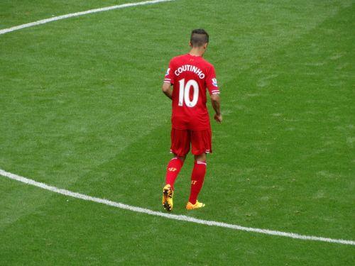 futbolas,futbolo žaidėjas,Philippe Coutinho,Sportas,stadionas,žaidėjas,žolė