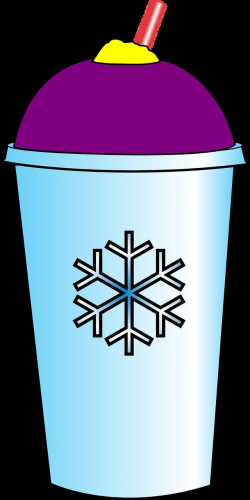 gaivus gėrimas,skuba gėrimas,slurpee,užšaldytas gėrimas,ledinis gėrimas,ledinis dirnk,saltas gerimas,vaisių gėrimas,frostee,nemokama vektorinė grafika