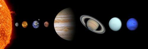 saulės sistema,saulė,gyvsidabris,Venus,žemė,Marsas,jupiteris,saturn,neptūnas,uranas,planeta,planetinė sistema,dangaus kūnas,astronomija