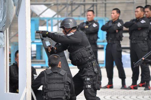 Kareivis, Kovos Su Terorizmu, Policija, Kovoti Su Įgūdžiais, Taivanas