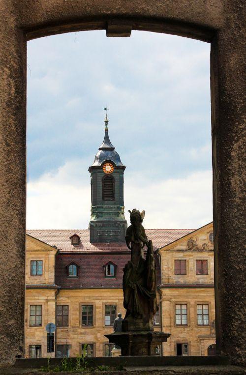 siela, langas, architektūra, Senamiestis, perspektyva, perspektyva, Bayreuth