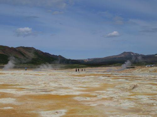 šaltiniai karšto,terminiai šaltiniai,geoterminė energija,iceland,kraštovaizdis,vulkanas,vulkaninis