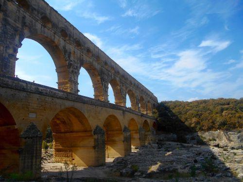 pietų france,france,pelė du garde,tiltas,architektūra,Unesco,romėnų