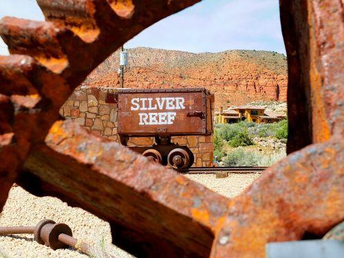 Pietų Juta,sidabrinis rifas,Utah
