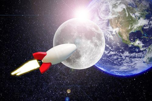 Erdvė, Planeta, Žemė, Orbita, Saulės Sistema, Galaktika, Žvaigždė, Naktis, Astronautika, Raketa