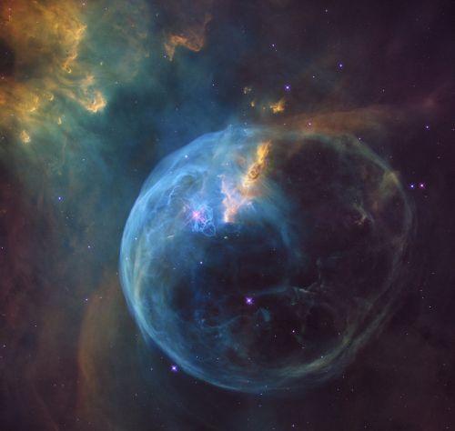 erdvė,burbulas,tūslė,žvaigždynas