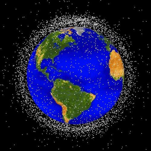 Kosmoso Šiukšlių, Kosmoso Šiukšlės, Orbita, Erdvė, Visata