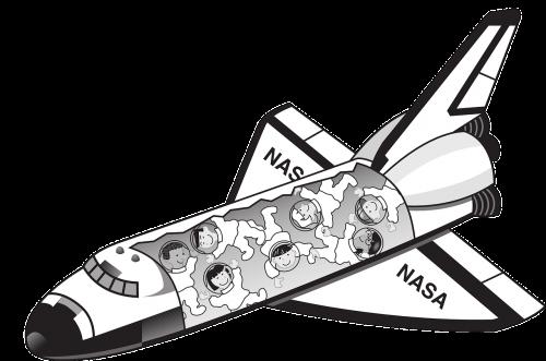 Kosminis Laivas, Nasa, Kosmoso Kelionės, Astronomija, Kosmoso Tyrinėjimas, Astronautai, Juokinga, Nemokama Vektorinė Grafika