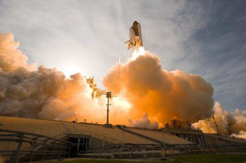 Kosminis Laivas, Pakilimas, Pakilimas, Nasa, Kosmosas, Kosmosas, Raketa, Pradėti, Gravitacijos Jėga, Mokslas