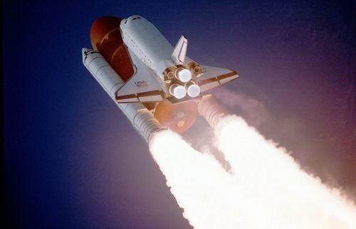 Kosminis Laivas, Pakilimas, Pakilimas, Nasa, Kosmosas, Kosmosas, Gravitacijos Jėga, Mokslas, Pradėti, Raketa, Ugnis, Atbaidymas