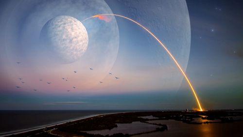 kosmoso kelionės,erdvė,visata,dangaus kūnas,Persiųsti,fantazija,kosmosas,visi,komponavimas,astronomija,žvaigždė,mėnulis,Sci fi,planeta,Žvaigždėtas dangus,tyrimai,mokslinė fantastika,naktinis dangus,astronautika,mokslas,kosmoso menas,kosmoso tyrimai