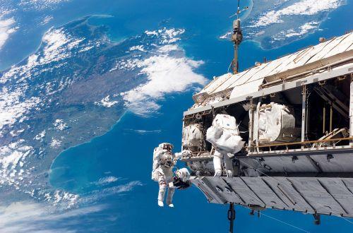Kosmoso Eismas, Astronautas, Nasa, Kosmosas, Kosmosas, Žemė, Globus, Iss, Tarptautinė Kosminė Stotis