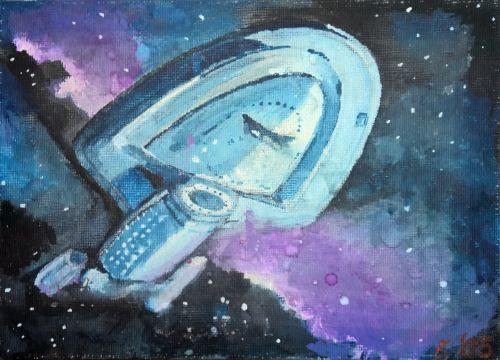 erdvėlaivio voyager,drobė akrilas,įmonė