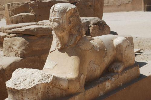 Sfinksas,Egiptas,šventykla