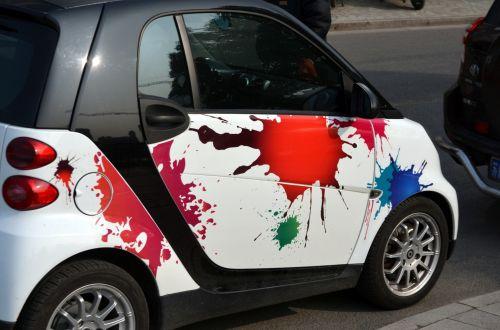 purslų, plakti, plyšimas, dažyti, dažyti & nbsp, plautą, automobilis, dizainas, dažai & nbsp, lašai, įstrigti