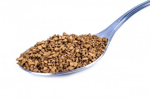 momentinis, šaukštas, šaukštas, kakava, arbatinis šaukštelis, Iš arti, kepsnys, izoliuotas, krūva, grūdai, Moča, maistas, dulkės, plienas, natūralus, kofeinas, balta, saldus, kava, ruda, gėrimas, aromatas, gerti, sidabro dirbiniai, skonio, tirpus, pilnas, šokoladas, skrudinta, juoda, šaukštelis su granuliuotą kavą