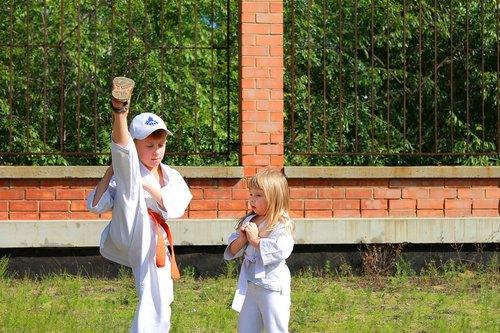 sportas, Karate, Kyokushin, vaikai, ruošiasi