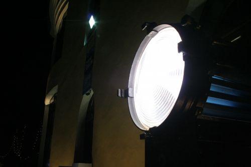 prožektorius, šviesa, įvykis, lauke, vieta, prožektorius