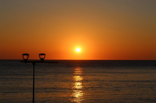 st jean de luz,saulėlydis,įlanka