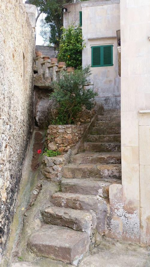 laiptai,įvestis,Viduržemio jūros