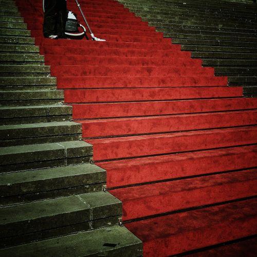 laiptai,atsiradimas,įvestis,perspektyva,raudonas kilimas,raudona,kilimas,žinomas