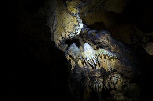 stalaktitas,urvas,stalaktito urvas,juoda,mėlynas,smėlio spalvos