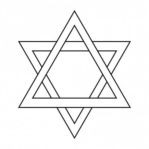 žvaigždė & nbsp, david, žvaigždė, kontūrai, Hanukkah, simbolis, Jėzus, religija, religinis, figūra, Iliustracijos, Scrapbooking, iliustracija, piktograma, žvaigždė Davido kontūro