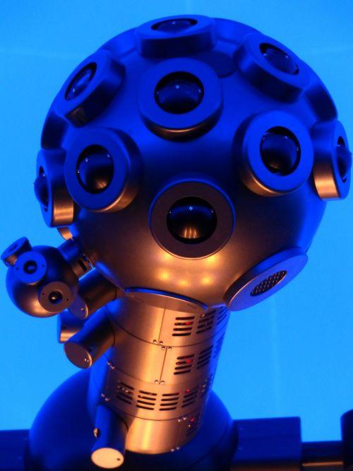 žvaigždutė projektorius,planetariumas,projektorius,mašina,futuristinis,mėlynas,šviesus,fluorescencinis,lęšiai,stiklas,akys