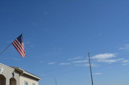 vėliava, raudona, balta, mėlynas, žvaigždės, juostelės, vėliava, usa, žvaigždė juosta vėliava amerikietiška senoji šlovė