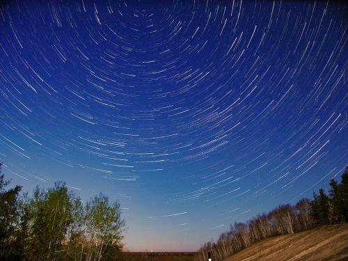 žvaigždės,žvaigždžių takai,naktis,dangus,manitoba