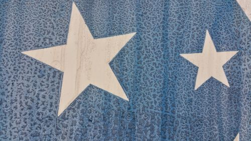 žvaigždės, juostelės, amerikietis, kaimiškas, senas, dažyti, žvaigždės, ištemptos spalvos
