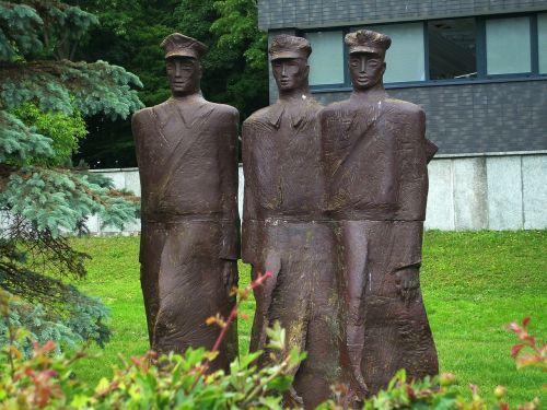 statulos,kołobrzeg,Lenkija,patriotizmas
