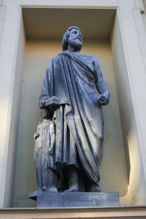 statulos, skaičiai, menas, kultūra, niša, statulos naujame Ermitaže