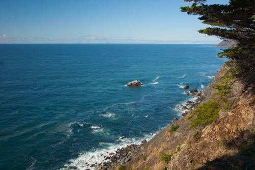 papludimys, didelis & nbsp, sur, rieduliai, Kalifornija, centrinis & nbsp, krantas, uolos, kranto, avarija, Ramiojo vandenyno regionas, Ramiojo vandenyno pakrantė, Ramiojo vandenyno vandenynas, ripples, uolingas & nbsp, krantas, uolingas krantas, kranto linija, naršyti, potvyniai, vanduo, bangos, kietas Ramiojo vandenyno krantas
