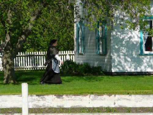 steinbach,Mennonito palikuonys,manitoba,Kanada,kostiumas,pastatas,namas