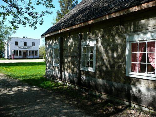 steinbach,Mennonito palikuonys,manitoba,Kanada,senas,Miestas,pastatas,bendroji parduotuvė