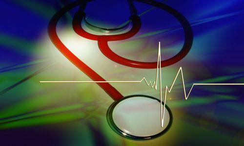 stetoskopas,kreivė,impulsas,dažnumas,širdies plakimas,ecg,elektrokardiogramma,grafika