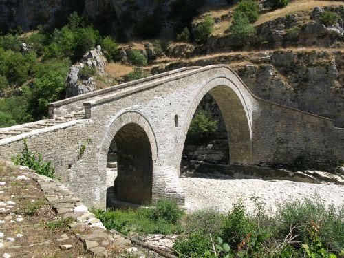 akmeninis tiltas,Graikija,epirus,architektūra,tradicinis,Zagori,vikos,Gorge