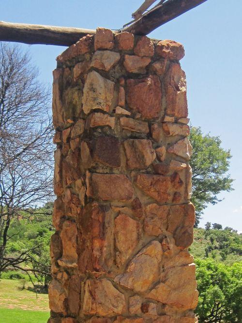 ramstis, akmuo, Rokas, natūralus, sodas, akmens ramstis
