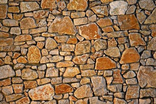 akmeninė siena, mūro, siūlės, Rokas, natūralus, tekstūros, fonas
