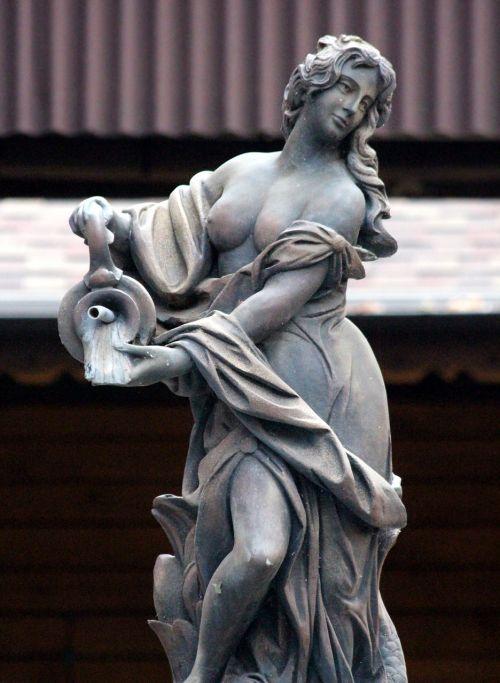 akmens moteris,parko skulptūra,skulptūra,klirensas,statula moteris,Sode,moters skulptūra,krasnodar