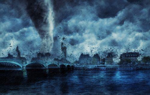 audra, oras, griauna, uraganas, griauna, tornadas, dramatiškas, be honoraro mokesčio